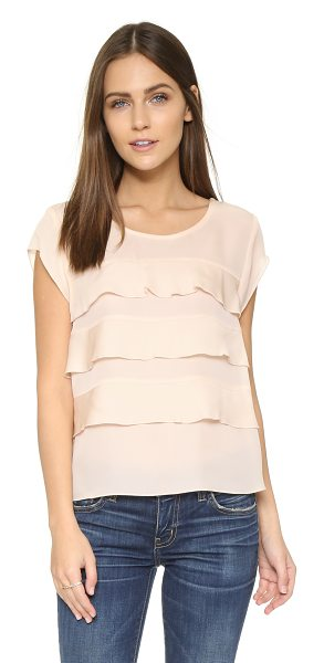 Joie Irvin blouse in white rose
