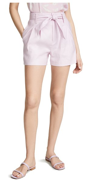 Joie kaylei shorts in lavender rose
