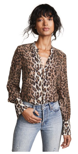 Joie tariana blouse in light taupe