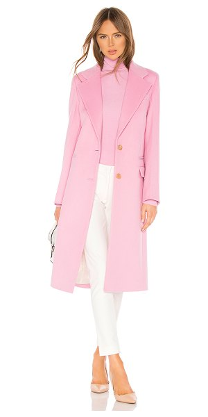 Joseph Magnus Coat in pink - Self: 95% wool 5% nylonLining 1: 60% poly 40%...