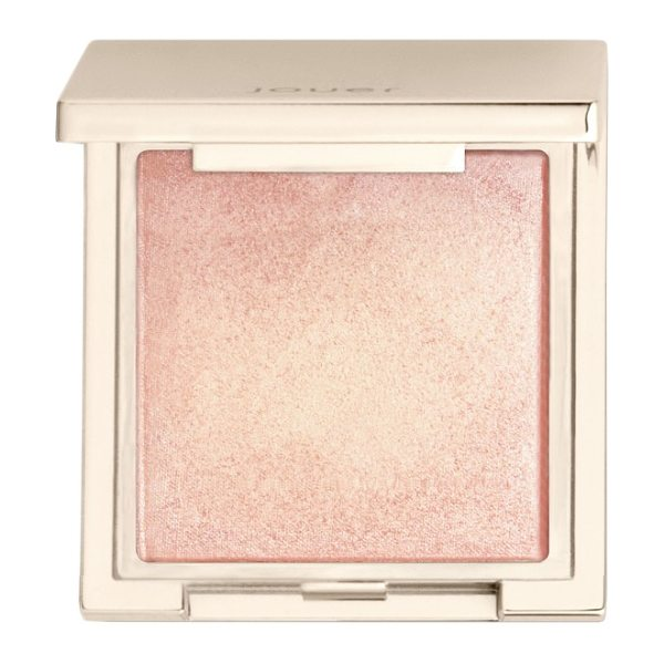 Jouer powder highlighter in rose gold - What it is: A creamy powder highlighter that stays put...