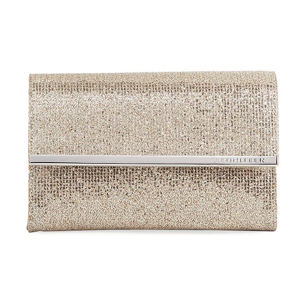 Judith Leiber Couture Chelsea Twinkle Evening Clutch Bag in gold - EXCLUSIVELY AT NEIMAN MARCUS Judith Leiber Couture...