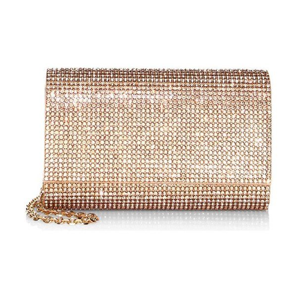 Judith Leiber Couture fizzy crystal crossbody in champagne - From the Saks IT LIST. SILVER. Shine bright in the...
