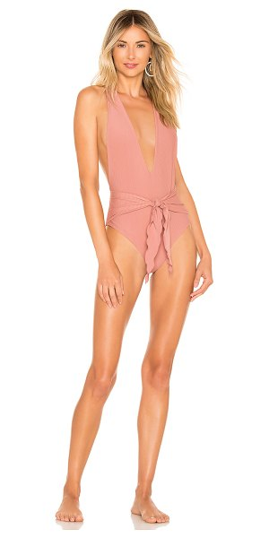 Juillet georgia one piece in rose dawn ribbed