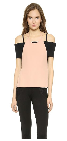 J.w.anderson Apron band top in pink/black - Description NOTE: Sizes listed are UK. Please see Size &...