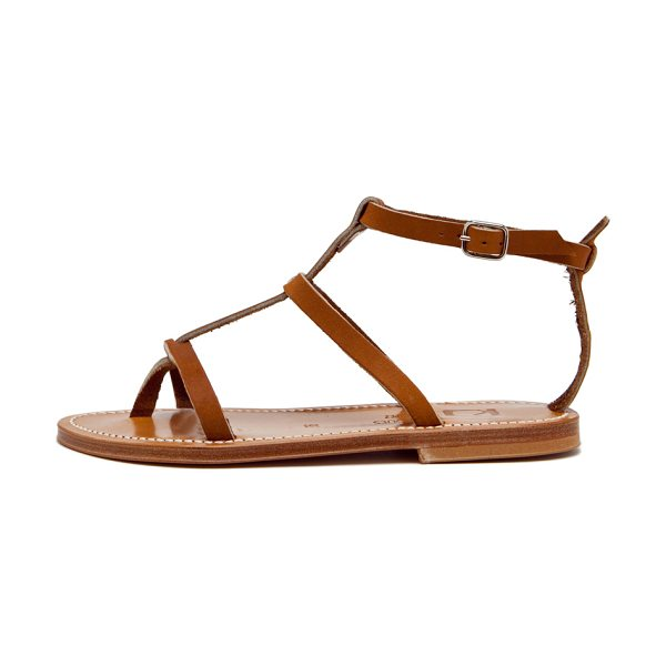 K. Jacques K. Jacques Gina Leather Sandals in brown - K Jacques footwear started with humble beginnings in...