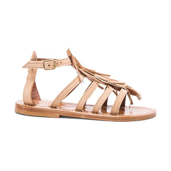 K. JACQUES Suede Fregate Sandals - K Jacques footwear started with humble beginnings in...
