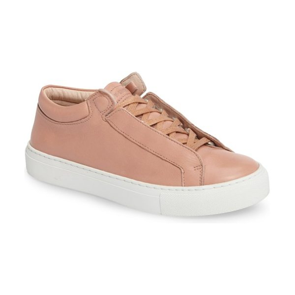 K-Swiss novo demi sneaker in cream tan/ off white - Reinvention never looked so good as it does in this...