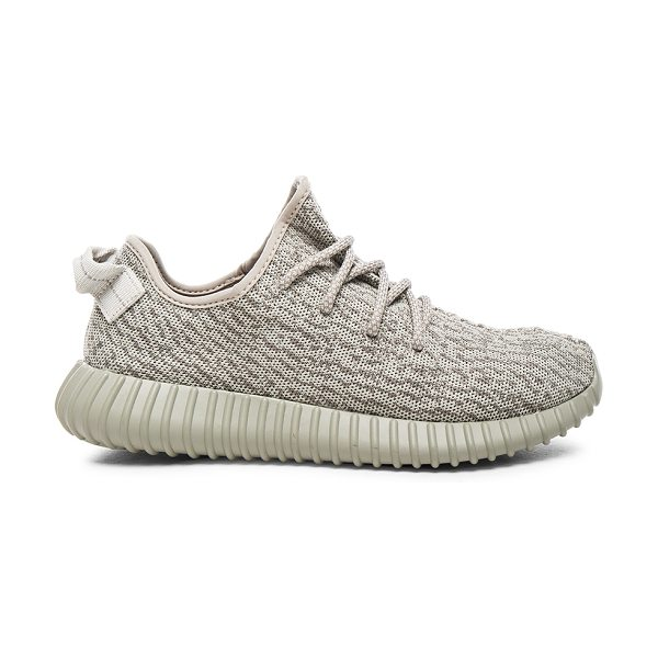 Kanye West x Adidas Originals Yeezy boost 350 in gray - Prime knit fabric upper with boost rubber sole.  Made in...