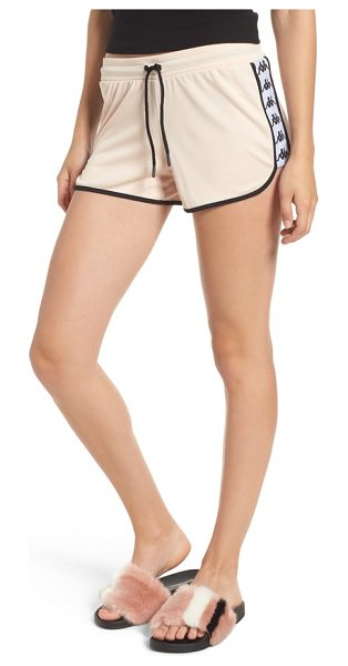 KAPPA anguy shorts in pink peach - Kappa's iconic Omini logo brands the tape-trimmed sides...