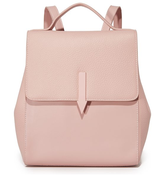 Karen Walker mini backpack in blush
