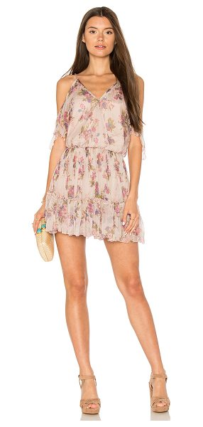 Karina Grimaldi Aiden Print Mini in blush - Rayon blend. Hand wash cold. Fully lined. Adjustable...