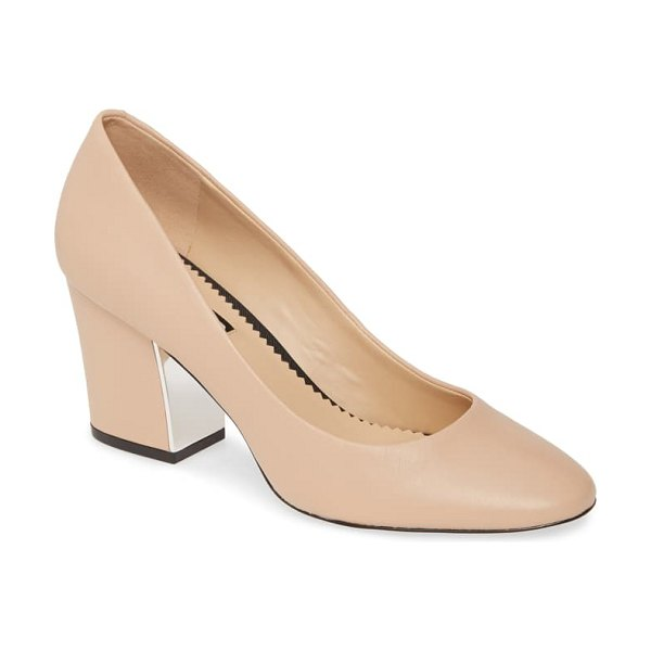 KARL LAGERFELD PARIS sabrina pump in beige