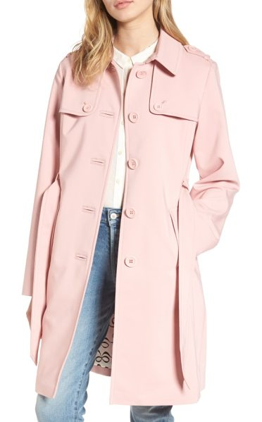 KATE SPADE NEW YORK 3-in-1 trench coat - Stay dry in inclement weather wearing this...