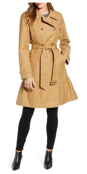Kate Spade New York belted trench coat in brown