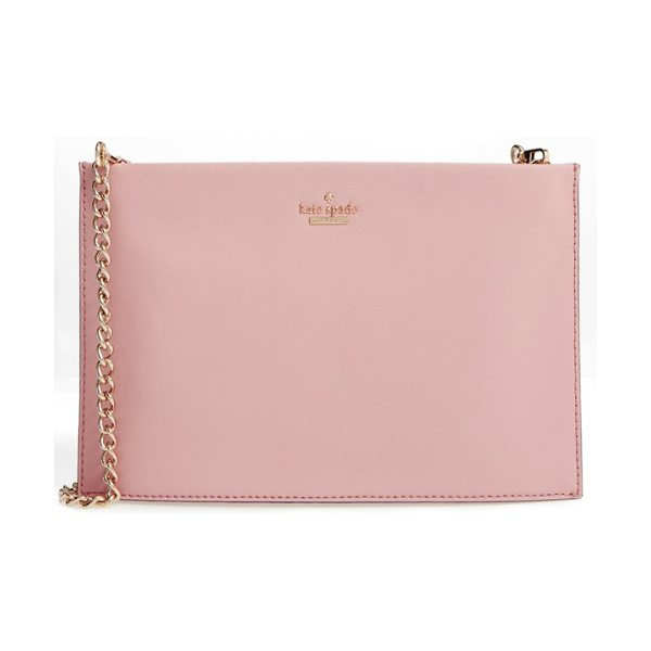 Kate Spade New York cameron street in pink bonnet - With its super-slim profile and optional chain-link...