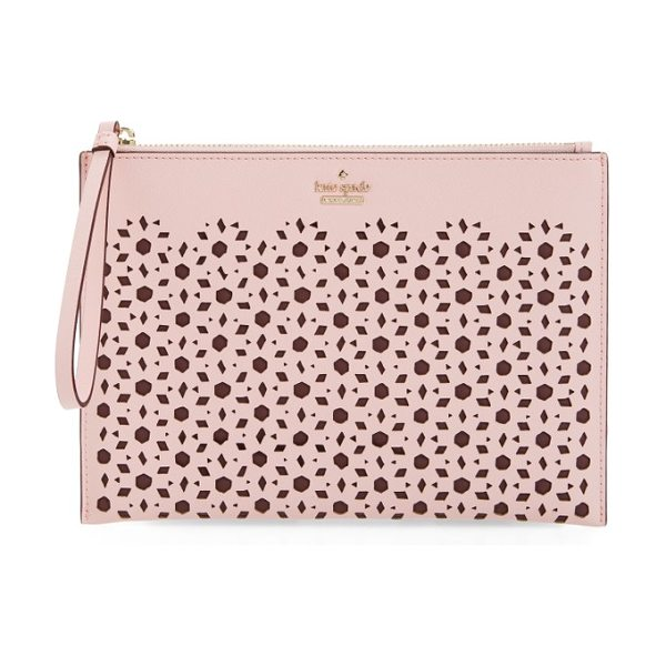 Kate Spade New York cameron street in pink sunset - With its slim profile and attached wrist strap, this...