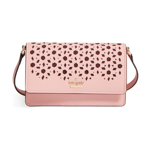KATE SPADE NEW YORK cameron street in pink sunset - This compact calfskin bag is a perfect match for all...