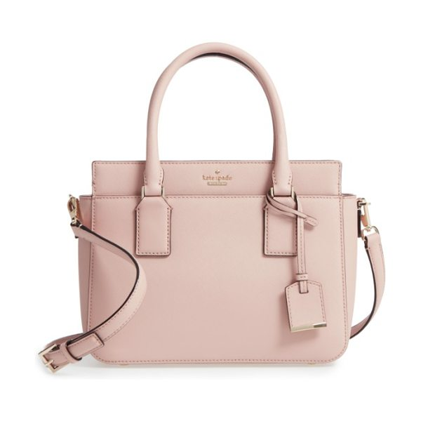 Kate Spade New York cameron street in toasted wheat - A petite, structured satchel in scratch-resistant,...