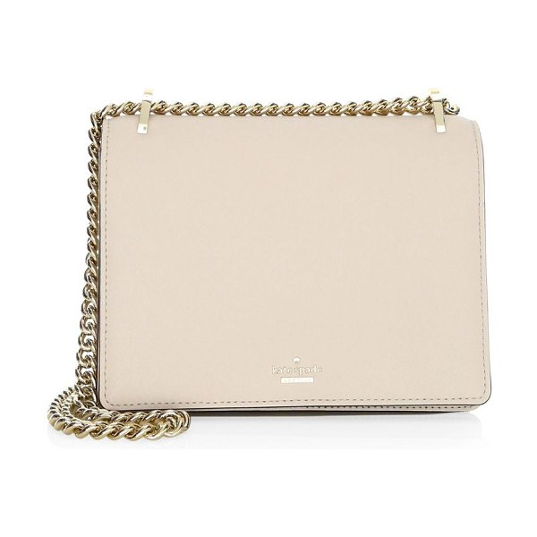Kate Spade New York cameron street marci leather shoulder bag in tusk - From the Cameron Street Collection Leather shoulder bag...