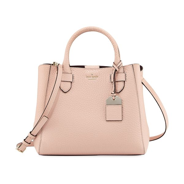 "KATE SPADE NEW YORK carter street devlin small tote bag - kate spade new york ""carter street devlin"" pebbled..."