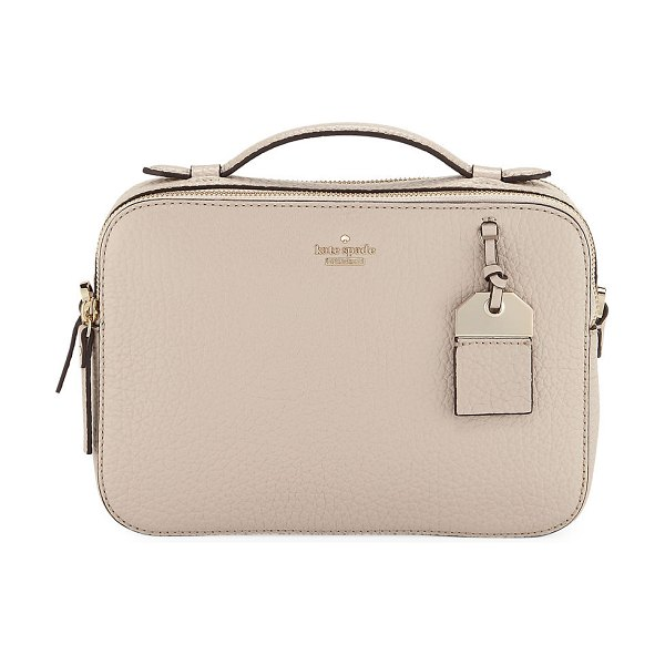 Kate Spade New York carter street large juliet crossbody bag in tusk - kate spade new york pebbled leather crossbody bag. Flat...