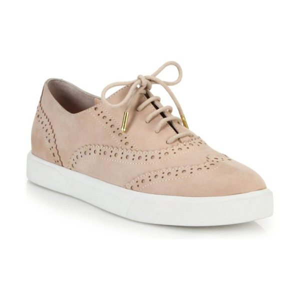 KATE SPADE NEW YORK Catlyn leather wingtip sneakers - The borrowed-from-the-boys polish of wingtip brogues...