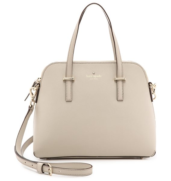 Kate Spade New York Cedar street maise cross body bag in clock tower - A sophisticated Kate Spade New York handbag in saffiano...