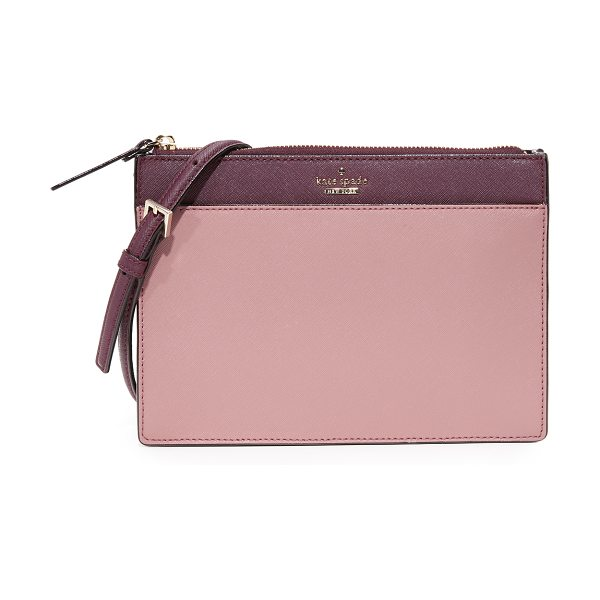 Kate Spade New York cameron street clarise cross body bag in dusty peony multi - A structured Kate Spade New York cross-body bag in...