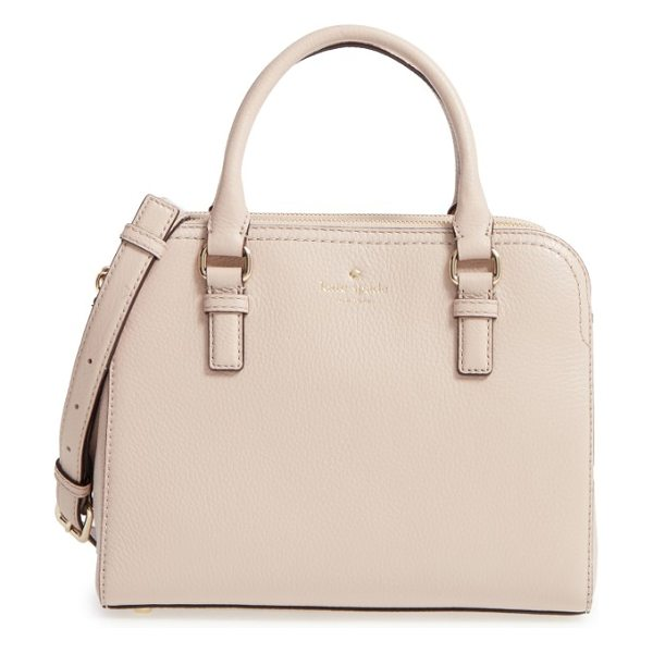 Kate Spade New York cobble hill in rose cloud - A structured and perfectly proportioned satchel shaped...