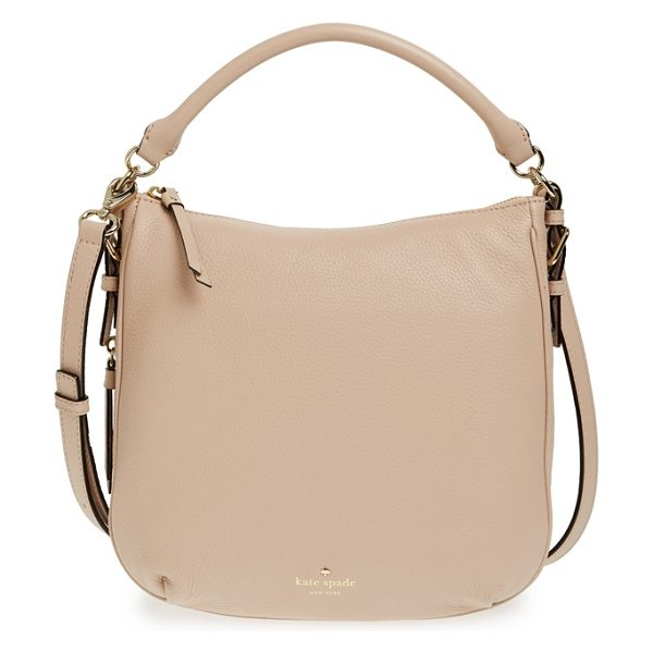 KATE SPADE NEW YORK Cobble hill - A clean-lined satchel shaped from finely pebbled leather...