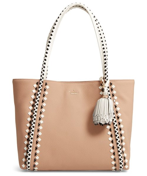 KATE SPADE NEW YORK crown street - A lightly structured tote of soft pebbled leather lives...