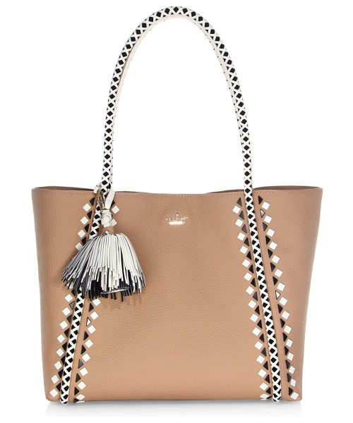 KATE SPADE NEW YORK crown street ronan leather tote bag - From the Crown Street Collection. Pebbled leather tote...