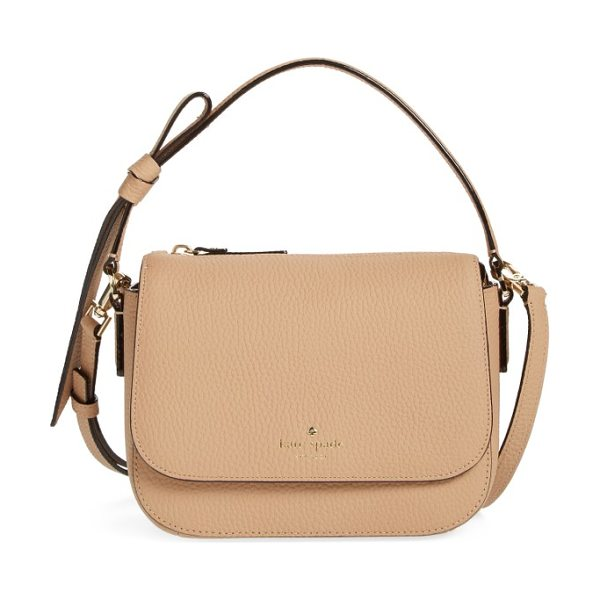KATE SPADE NEW YORK daniels drive - A chic crossbody bag shaped from finely pebbled leather...