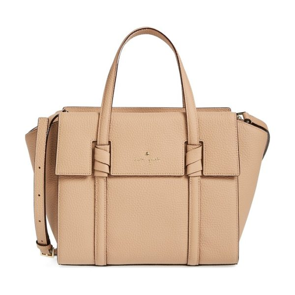 Kate Spade New York daniels drive in hazel - A scaled-down yet still roomy satchel crafted from...