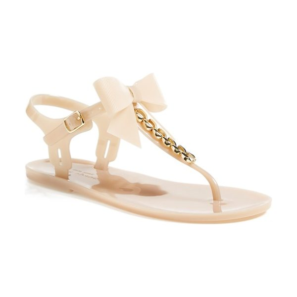 Kate Spade New York flise flat sandal in dusty mauve - Perfect for poolside or lazy days at the beach, this...