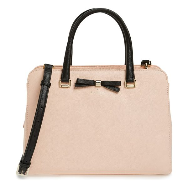 Kate Spade New York Henderson street in urchin pink/ black - A dainty kate spade bow provides a polished finish for a...