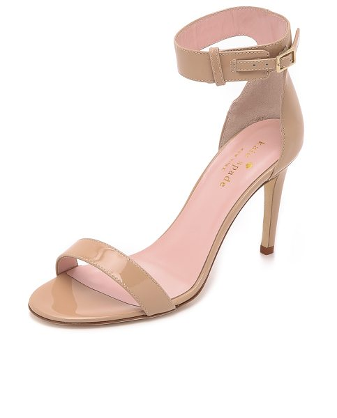 KATE SPADE NEW YORK Isa sandals - Elegant Kate Spade New York sandals cut from patent...