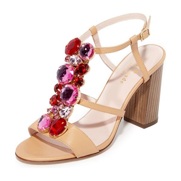 KATE SPADE NEW YORK Isabell sandal - Kate Spade New York sandals with a chunky heel,...