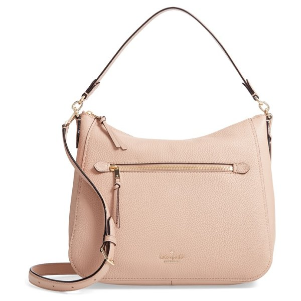 Kate Spade New York jackson street in ginger tea - Clean lines and a subtly slouchy silhouette define a...