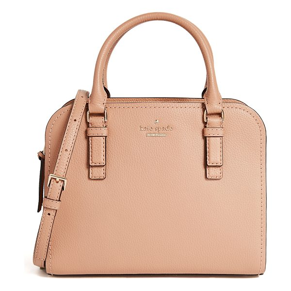 KATE SPADE NEW YORK jackson street small kiernan tote - A scaled-down Kate Spade New York satchel in pebbled...