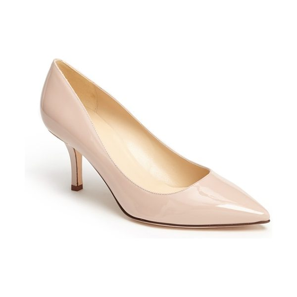 KATE SPADE NEW YORK jess pump - An Italian pump features a timeless silhouette and a...