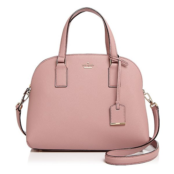 KATE SPADE NEW YORK kate spade new york Cameron Street Lottie Saffiano Leather Satchel - kate spade new york Cameron Street Lottie Saffiano...