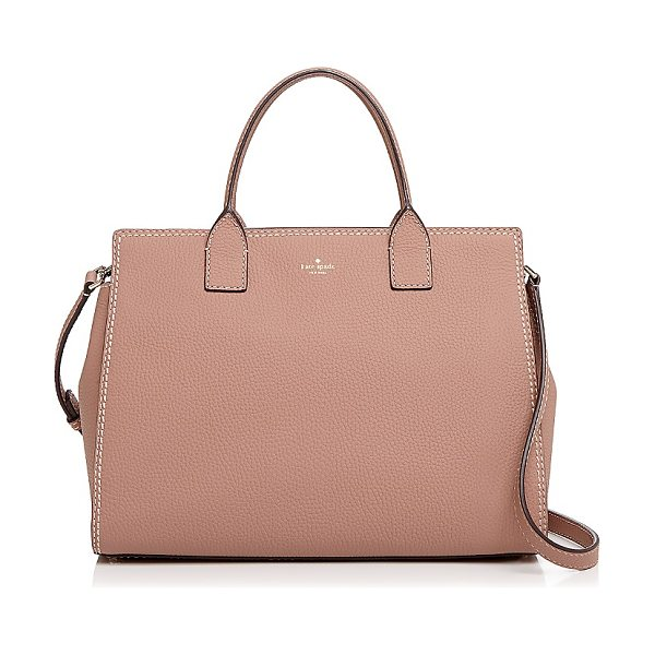 KATE SPADE NEW YORK kate spade new york Dunne Lane Lake Leather Satchel - kate spade new york Dunne Lane Lake Leather Satchel-Handbags
