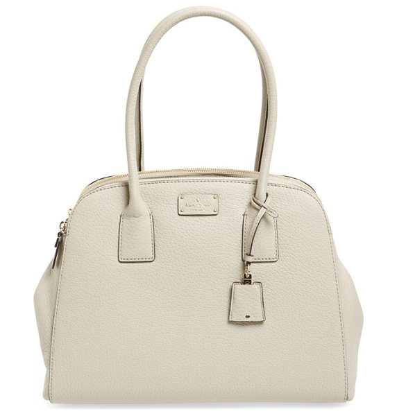 Kate Spade New York Kendall court in clock tower - Lightly glazed pebbled leather adds lovely dimension to...