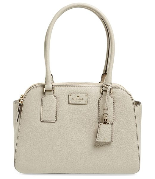 Kate Spade New York Kendall court in clock tower - Richly grained leather defines the structured,...
