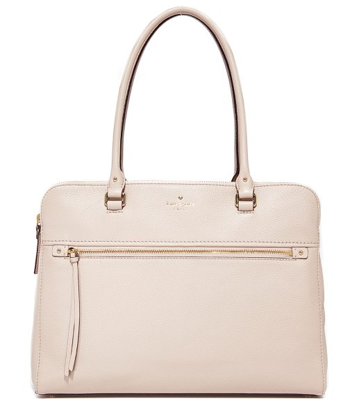 KATE SPADE NEW YORK kiernan tote - A large Kate Spade New York tote crafted in soft pebbled...