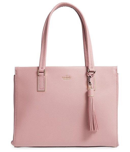 Kate Spade New York kingston drive in dusty peony - This wear-with-anything, pebbled-leather...
