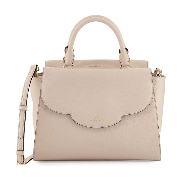 Kate Spade New York leewood place makayla leather tote bag in pink pattern - kate spade new york pebbled leather tote bag. Available...