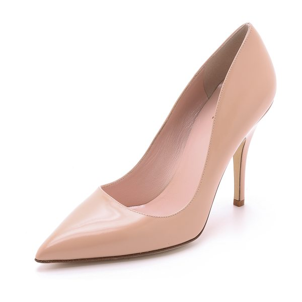 Kate Spade New York Licorice pumps in shell - These versatile Kate Spade New York pumps are made from...